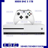 Consola Xbox One S Disco Dd 1tb + Minicraft Somos Tienda Ldc