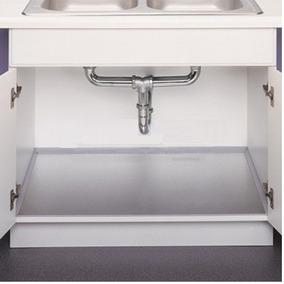 Protector Fondo Fregadero Aluminio 90cm Cocinas Empotradas