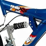 Bicicleta Bike Track Equipada Full Suspencion