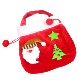 47352abbd Santa Claus Dulces Bolsa De Regalo Trato Almacenamiento Bols