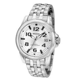 0a9b2c8e782 Relógio Magnum Ma33022q Calendario Pulseira Metal