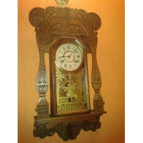 08d5169353c Antigo Relógio Americano New Haven Clock Co. - Relógios De Parede ...