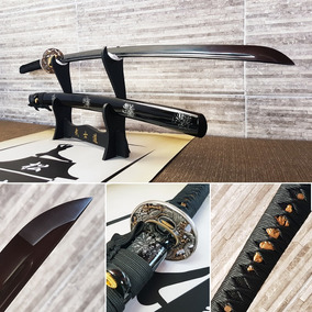 Espada Katana Forjada Carbono Ninja Samurai Pronta Entrega