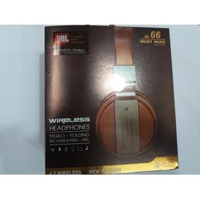 Audifono Jbl Inalambrico Jb-66, Bluetooth, Micro Sd, Mp3, Fm