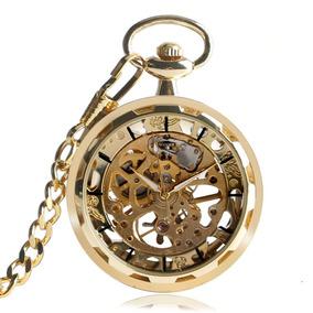 808309b4f06 Relogio Bolso Dourado - Relógios De Bolso no Mercado Livre Brasil