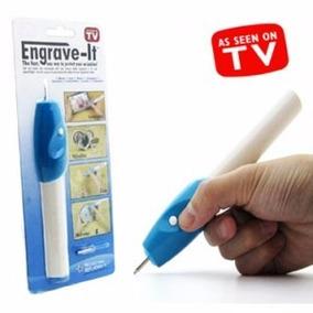 Lapiz Grabador Engrave It Metal Plastico Vidrio Con Envio