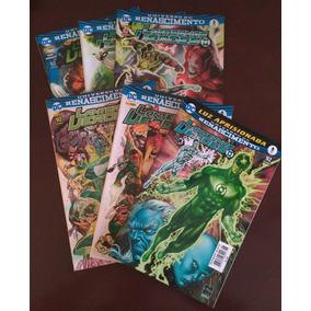 Dc Renascimento - Lanternas Verdes Vols 01 Ao 06