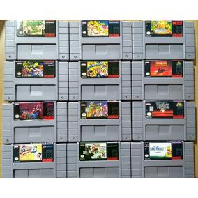 Cartuchos Super Nintendo! Valor Unitário! Mario,donkey,mk