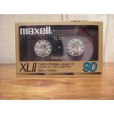 Cassettes High Cro2 Maxell Xlii·90 Nuevo Sellado