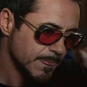 9eacfe9f12805 Oculos Tony Stark Vermelho De Sol - Óculos no Mercado Livre Brasil