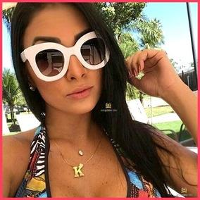 54cd546c4f0c6 Oculos De Sol Celine Branco - Óculos no Mercado Livre Brasil