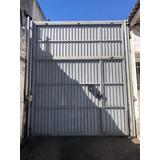 Portão Articulado Industrial 4,00m(altura) X 3,55m(largura)