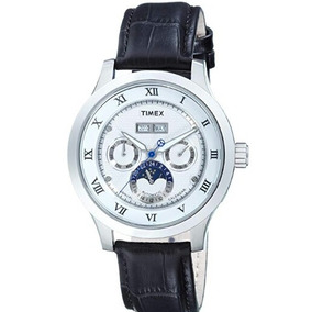 Reloj Timex Modelo T2n294 Seminuevo Correa De Piel