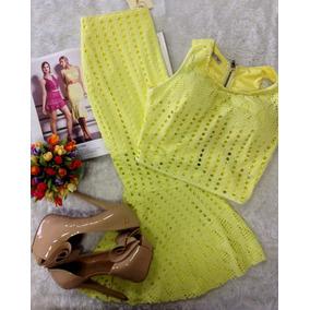 Conjunto Amarelo Perfect Way Tam P