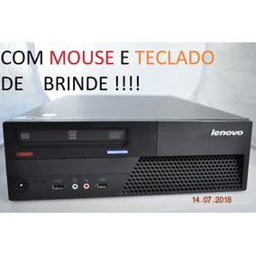 Pc Lenovo Thinkcentre M58p Core 2-duo 4gb Ram / 250 Gb Hd