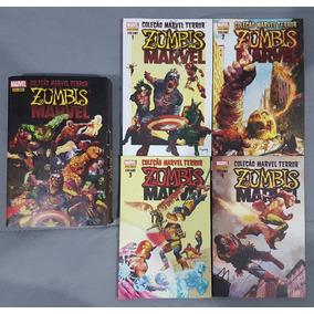 Coleção Marvel Terror - Zumbis Marvel - Vol. 01 Ao 04