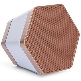 Corneta Inalambrica Dn Hexagonal Bluetooth Portatil Grande