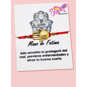 Pulsera De Hilo Mano De Fatima Para Proteccion.