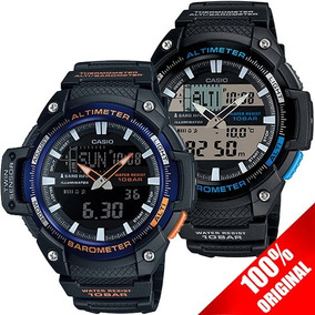 a41b21d3fda1 Reloj Casio Sgw450 Altimetro Barometro Termometro 5 Alarmas