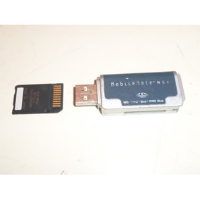 Tarjeta De Memoria Memorystick Pro Duo Sony Con Adaptador