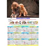 50 Calendarios Personalizados 2019 Santoral Tamaño 32x23cm.