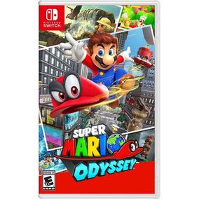 Jogo Super Mario Odyssey Switch Novo Lacrado