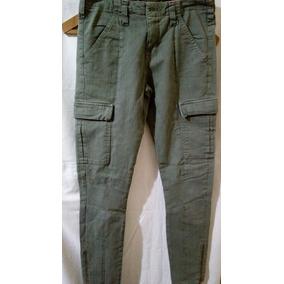 Verde Cargo Pantalones Mujer De Claro Zara AwZnUqWTF
