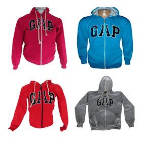 Kit 20 Blusa Casaco Frio Moletom Feminino Gap Ziper Aberto