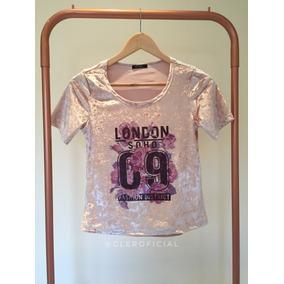Blusas Femininas Kit 2 T-shirts Rosa Roupas Femininas