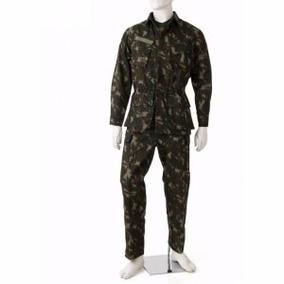 Kit 20 Fardas Militar Camuflada Rip Stop Exercito Brasileiro