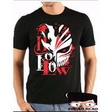 Camisa Bleach Hollow Camisetas Blusas Manga Curta Anime 64af6e45839