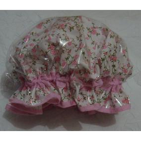 Touca De Banho Rosa Com Bolinhas De Isopor - Beleza e Cuidado ... d1b06d4341d