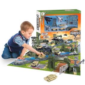Portaviones Base Militar Infantil Mundotoys