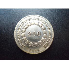 Moeda 200 Réis De 1848 - Réplica