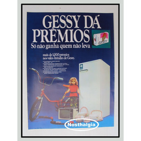 Cartaz Promocional - Sabonete Gessy - Anos 70 - F(235)