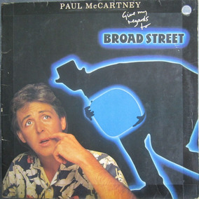 Lp Paul Mccartney Broad Street Encarte