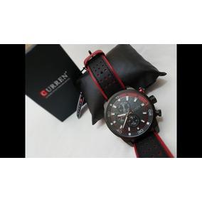 Relógio Masculino Curren 8192-pulseira De Couro
