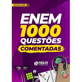 Apostila Enem 2019 Caderno De Testes - 1000 Questões