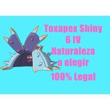 Toxapex Shiny Pokemon Competitivo 6iv Pokemon Sun Moon