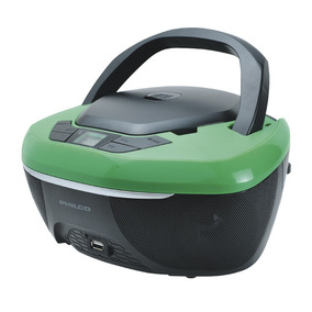 Radiograbador Philco Arp-2500 Negro/verde