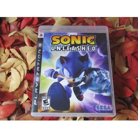 Sonic Unleashed Mídia Física Ps3 Impecável Frete Cr R$ 11,98