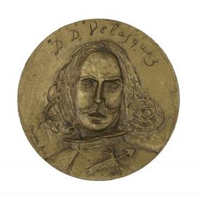 Diego Velasquez Pintor Espanhol Medalha Comemorativa