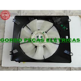 Defletor+ Ventoinha Do Condensador Do Ar Honda Fit 2004-2008