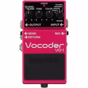 Pedal Boss Vo-1 Vocoder Voz Processador Vocal Guitarra Vo1