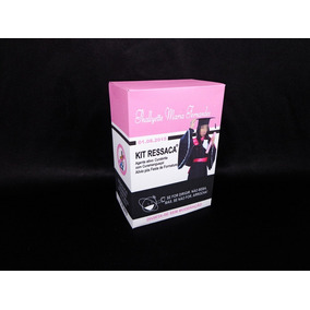 30 Kit Ressaca Box Formatura Ressacol Rosa Foto