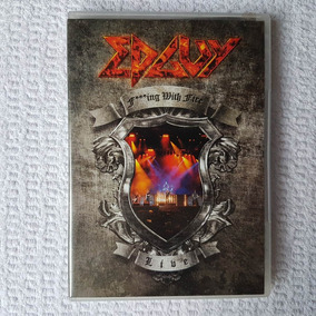 Dvd Edguy - Fucking With Fire