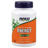 Energy - 90 Caps Veganas - Now Foods - Oferta