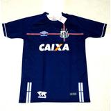Camisa Santos Azul 3 Uniforme - Futebol no Mercado Livre Brasil 8ff1d2a37f66e