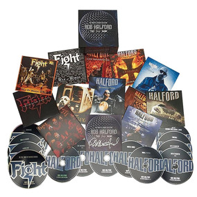 Rob Halford The Complete Albums Collection Box 14 Cds Judas