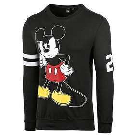 Sudadera Lic Punto Z Mickey Mouse Dcach0013 Caballero Oi